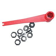 PIRANHA Propeller FLOATING PROPWRENCH WITH INSERTS TO FIT MOST MAKES AND (Floating Prop Wrench)