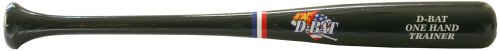 D-Bat One Hand Trainer Wood Baseball Bat