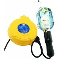 Alert Stamping 920dt Incandescent Plastic Retractable Cord Reel Work Light
