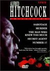 The Alfred Hitchcock Collection (Murder, Number 17, The Man Who Knew Too Much, Sabotage, Secret (The Man Who Knew Too Much Dvd)