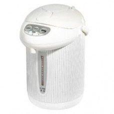 LE CHEF LC3523W 3.5 QT. HOT WATER PUMP POT WHITE STRIPES W/ AUTO DISPENSE PERMITTED TO ADD COLD WATER YOM TOV (PUMP