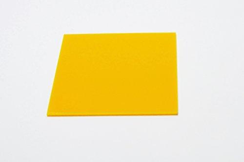 Falken Design YL-1-8/1224 Acrylic Yellow Sheet, 14% Translucent , 12