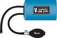 5114172- W. A. Baum Adult Calibrated V-Lok Inflation System, Blue Cuff -1820