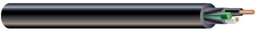 - Southwire 55043321 300 Volt 25-Feet 14-Gauge 3 Conductor 14/3 Quantum TPE SJEOOW Portable Flexible Power Cord, Black