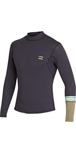 Billabong 2019 Junior 2mm Revolution Dbah LS Jacket Black Sands N42B02 Age - 14Y ()