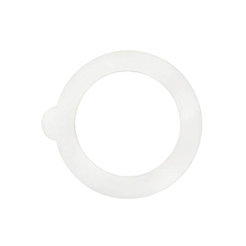 Bormioli Rocco Glass Co 6 Piece Fido Jar Replacement Gaskets, 3.25