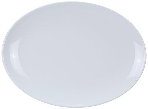 Yanco CO-210 Coupe Pattern Oval Platter, 10