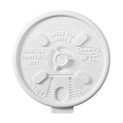 Dartreg; Lift n Lock Plastic Hot Cup Lids DCC 8FTL
