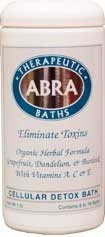 Abra Cellular Detox Bath Grapefruit And Juniper 17 (Abra Cellular Detox Bath)