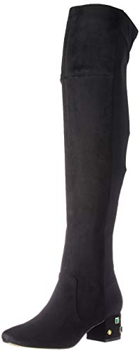 Katy Perry Women's The Gem-Suede/Stretch Lycra Over-The-Knee Boot