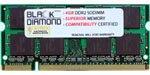 4GB Memory RAM for HP TouchSmart Laptop TX2-1000 200pin PC2-6400 800MHz DDR2 SO-DIMM Black Diamond Memory Module Upgrade