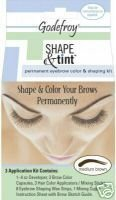 Godefroy Shape and Tint, Medium Brown, 3 Count