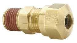 Parker Hannifin VS68NTA-8-8 Brass Air Brake-NTA Male Connector Fitting, 1/2
