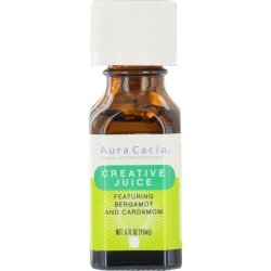 Aura Cacia Essential Solutions Oil Creative Juice - 0.5 fl o