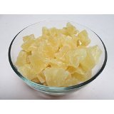Dried Pineapple Tidbits (Chunks), 11 pound bag