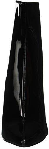 Jeffrey Hautes lustrous black Multicolore 001 L Femme Campbell Red 4 Bottes SfqSwB