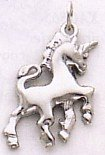 14k White Gold Unicorn Charm [Jewelry]