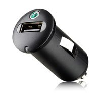 Sony Ericsson AN400 - Adaptador/cargador de coche con USB para teléfonos móviles Sony Ericsson