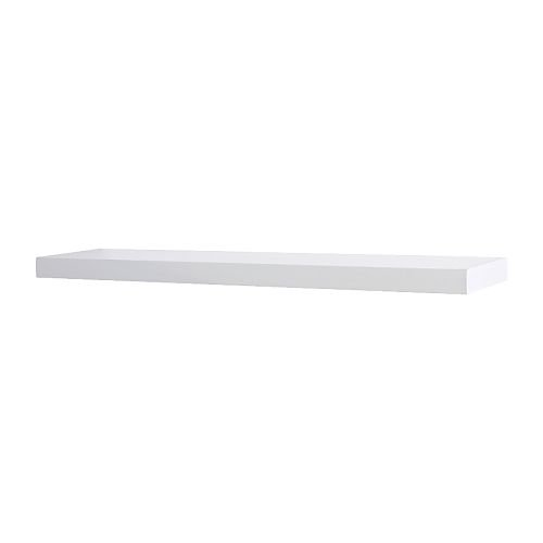 ikea lack floating wall shelf white buy online in uae home garden products in the uae see. Black Bedroom Furniture Sets. Home Design Ideas