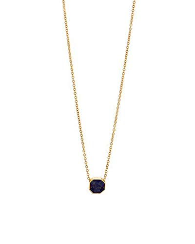 Gorjana Charm - Gorjana Power Gemstone Charm Adjustable Necklace - Wisdom
