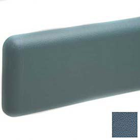 Wall Guard W/Rounded Top & Bottom Edges, 6''H X 12'L, Windsor Blue