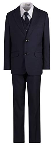 Boys Slim Fit Navy Blue Suit in Toddlers to Boys Sizing (10 Boys) ()
