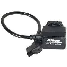 Nikon SC-22 3-Pin Sync Cord for 120mm f/4 Medical Nikkor Lens