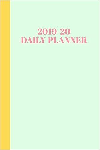 2019-20 Daily Planner: Academic Year Agenda ... - Amazon.com