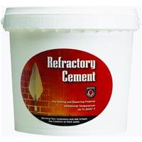 Premixed Refractory Cement (MEECO'S RED DEVIL 611 Refractory Cement - Indoor Use Only)