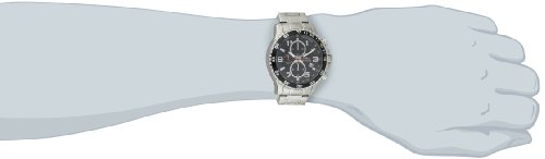 Amazon.com: Invicta Men's 14875 Specialty Chronograph Black Textured Dial  Stainless Steel Watch: Invicta: Watches