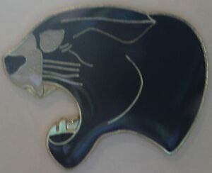 Quality Handcrafts - Cat Pin Biker Enthusiast Panther Jaguar Jacksonville NFL Carolina - Accessories for Clothes Decoration