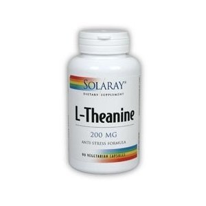 Solaray - L-théanine, 90 caps veggie