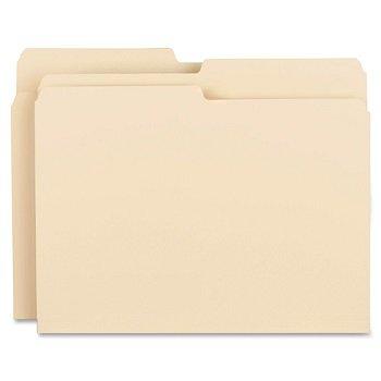 MyOfficeInnovations 3254157 File Folders 11 Pt. 1/3 Cut Ast Tab Letter 100/BX Manila ()