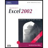 New Perspectives on Microsoft Office Excel 2003 : Introductory, Parsons, June Jamrich and Oja, Dan, 0619206640