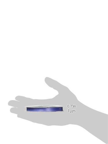 Amazon.com: Schiff Ribbons 244-1.5 3/8-Inch Polyester Single Face Satin Ribbon, 20-Yard, Blue Iris