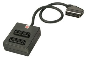 SCART Splitter 2 Way NonSwitched RGB Support Amazoncouk