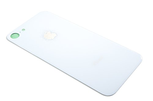 Back Glass Cover Battery Door Replacement For Apple iPhone 8 (White)