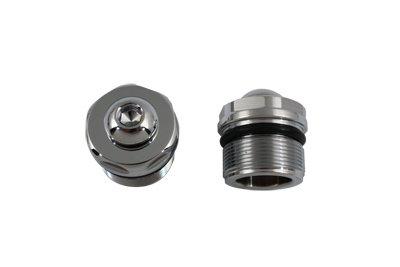 39mm E-Z Fill Fork Tube Plug - Fits: FXR 1988-1994, XL 1988-UP, FXR - Tube Fork Fits