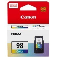 Canon Ink Cartridge Colour  CL 98   compatible with Pixma E510 / E610