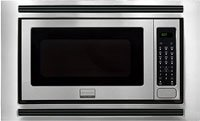 """Frigidaire FGMO205KF Gallery Series 24"""" 2.0 cu. ft. Capacity Built-In Microwave Oven 1200 Watts 3 Auto Cook Options Sensor Cook 7 User Preference Options and One-Touch Options in Stainless.  Internal Dimensions : Microwave Interior Width: 17-..."""