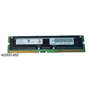 Compaq Genuine 128MB RDRAM PC800 (45ns) ECC for PWS AP240, 250, 550, SP750 - Refurbished - 402833-862