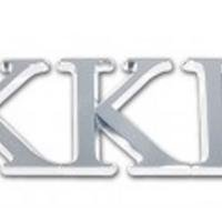 Elektroplate Kappa Kappa Gamma Chrome Auto Emblem by Elektroplate