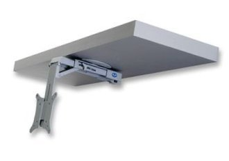 Flip Down LCD LED TV Monitor Under Cabinet Mount: Amazon.co.uk ...