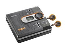 Sony MZ-DN430PSBLK Psyc MiniDisc Network Walkman (Black) by Sony