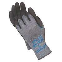 SHOWA 330L-09.RT Painting-Gloves, Large, Grey