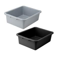 Winco PLW-7K Dish Box, 20.75'' x 16.75'' x 7'', one compartment by Winco (Image #1)