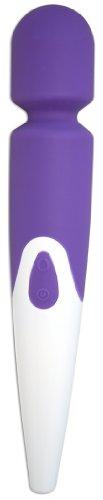 Shibari Halo 10x, Wireless, Waterproof, Magic Wand Massager [Purple]