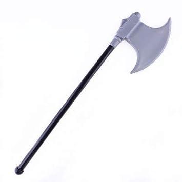 Diable Weapon Funny Halloween Props VEVICE Jouet en Plastique pour Enfants Faux en Plastique et Hache en Plastique