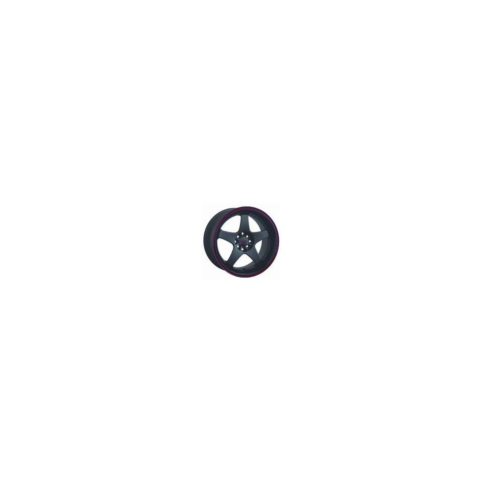 18 XXR 962 Black RED Rims Wheels Staggered 350z G35 G37 SET OF 18 INCH XXR WHEELS 5X114.3 and 5X4.75 OFFSET 35
