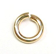 - Dreambell 10 pcs 14k Gold Filled Round Open Jump Rings 5mm 18 Gauge 18ga Wire